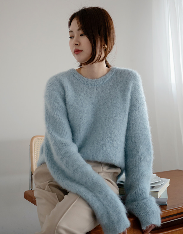 9049_Kid Mohair 50 Sweater [ Early Bird 10% DC ]