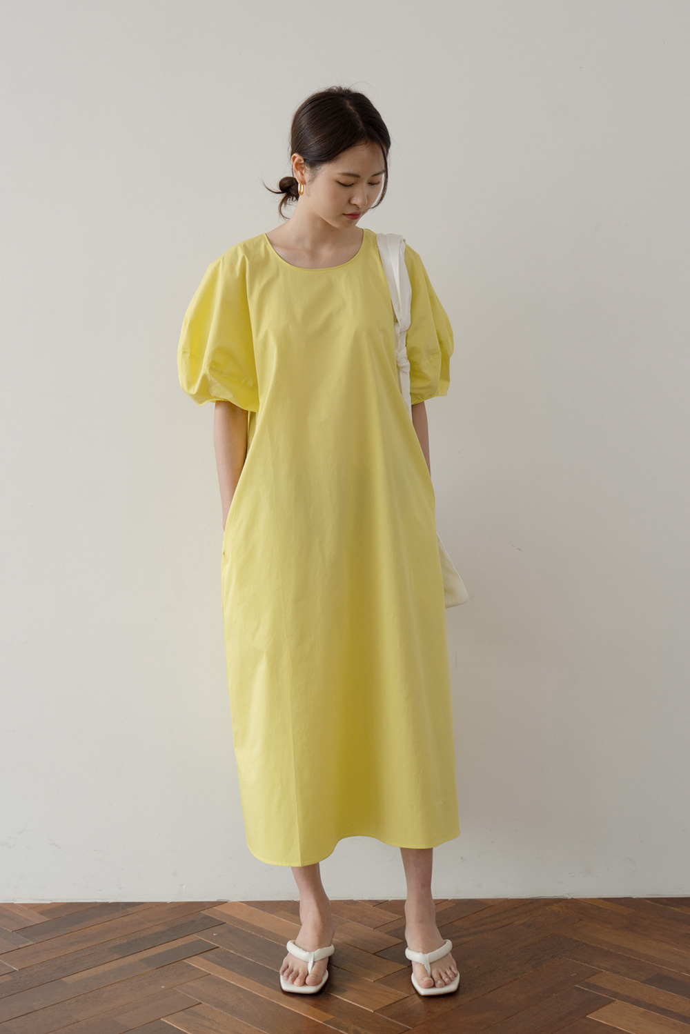2002_Lemon Volume Dress   [ Pre_Order 10% DC ]