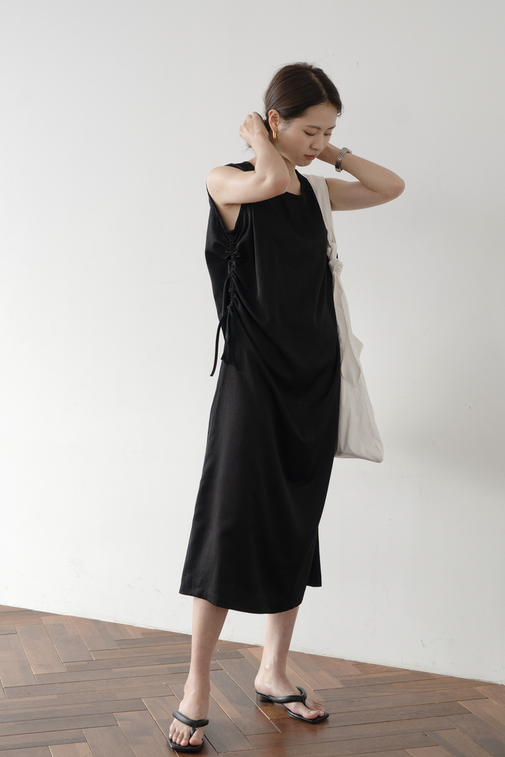 1898_Side String Dress  [ Pre_Order 10% DC ]