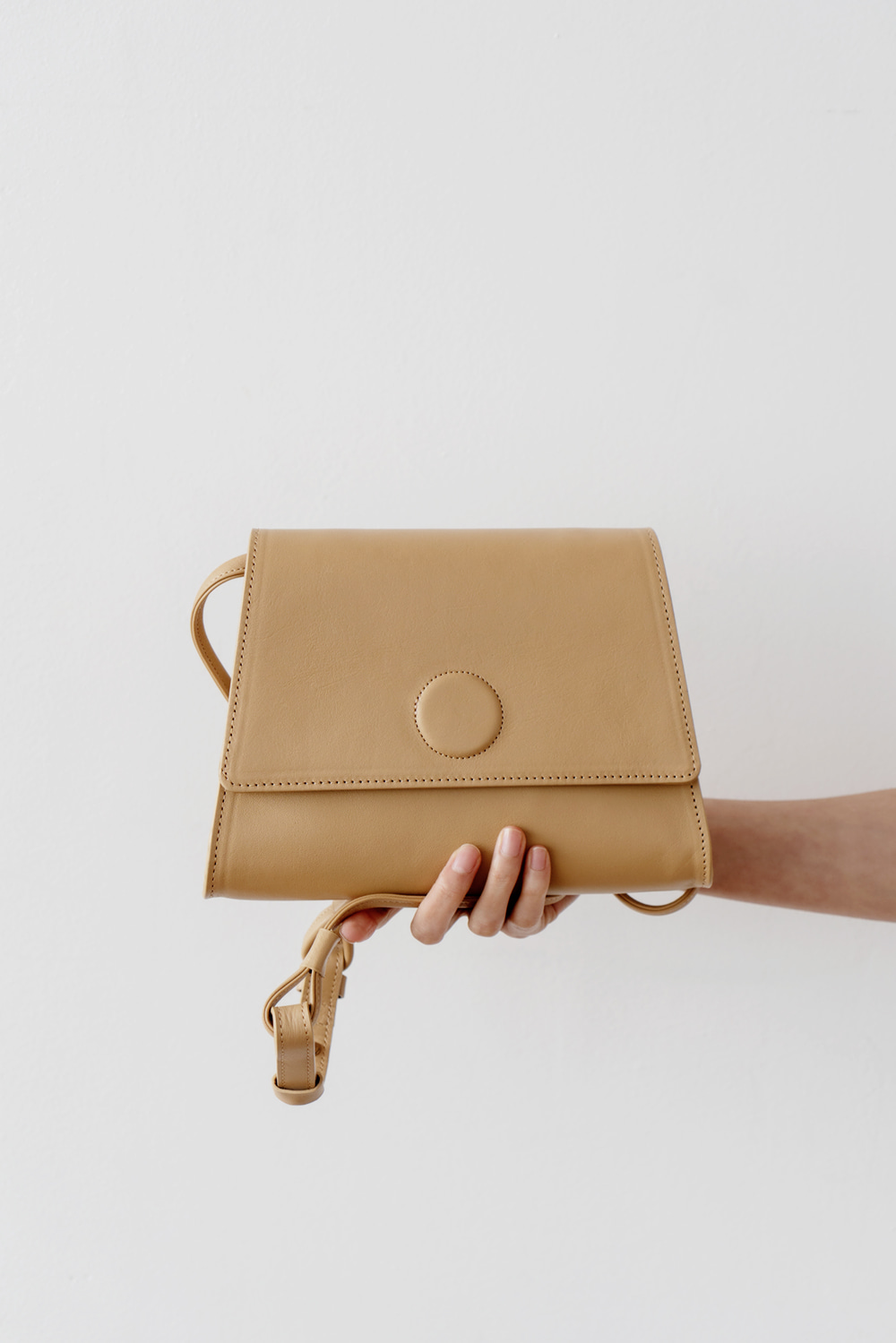 2443_Button Calf Bag [ New Season / 10% DC ]