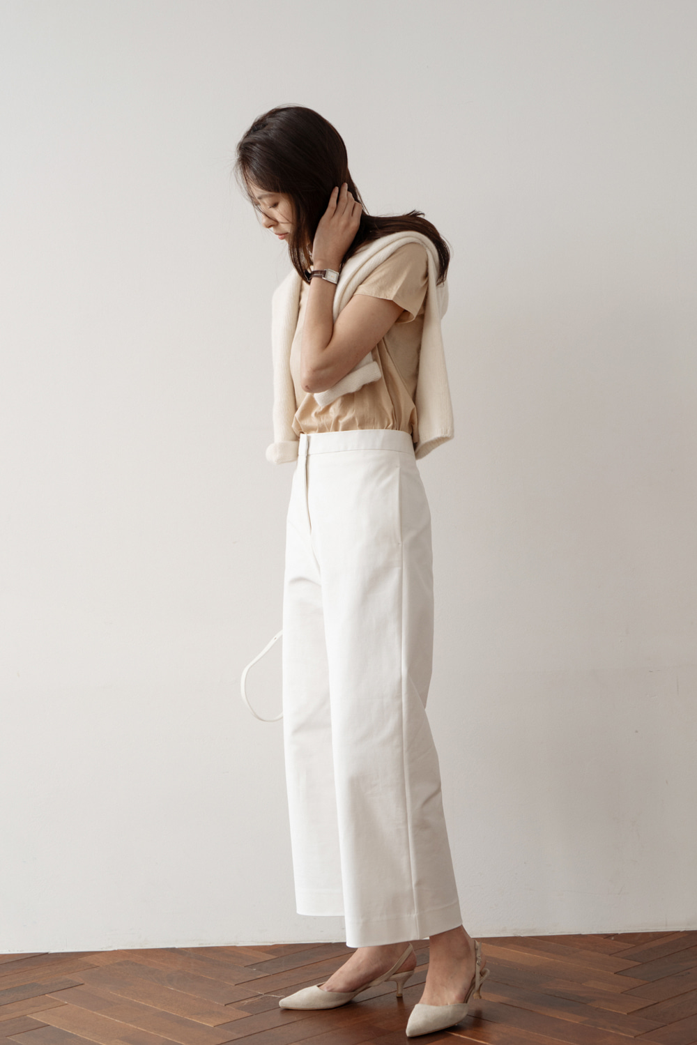 2505_Cotton Low Pants [ New Season / 10% DC ] 27일 마감
