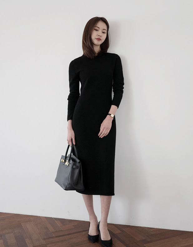 wholegarment knit Dress