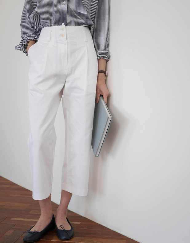 Linda button Trousers