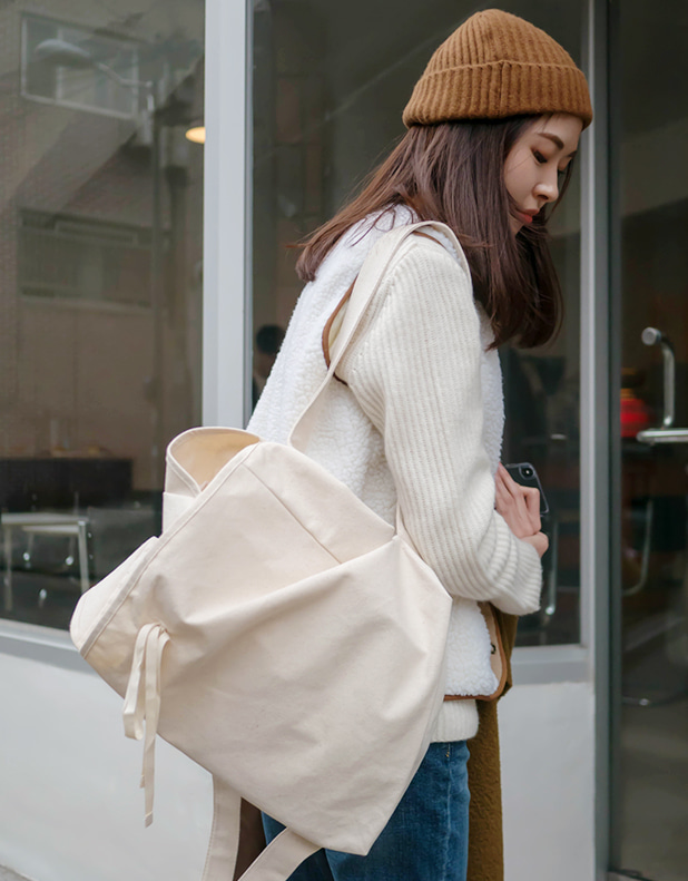 8662_Cotton Backpack