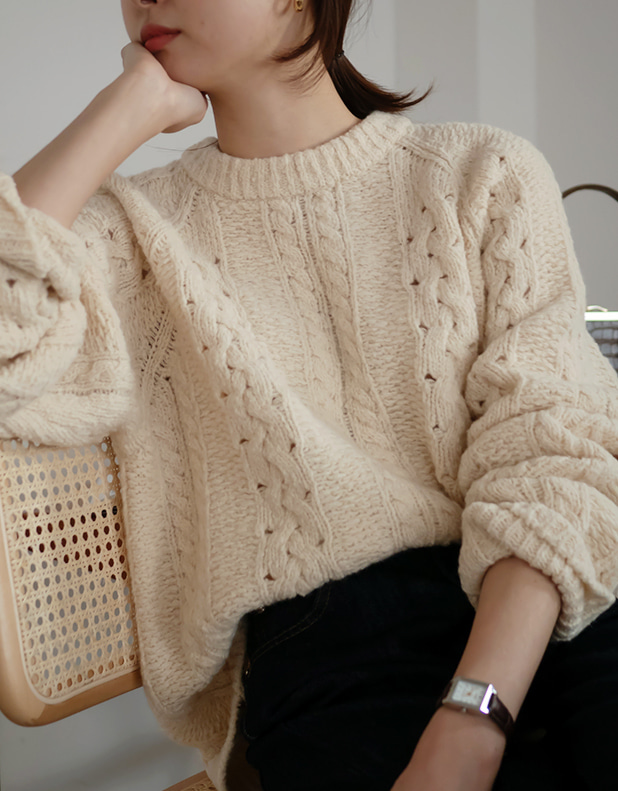 8958_Tender twist knit  (리오더중)
