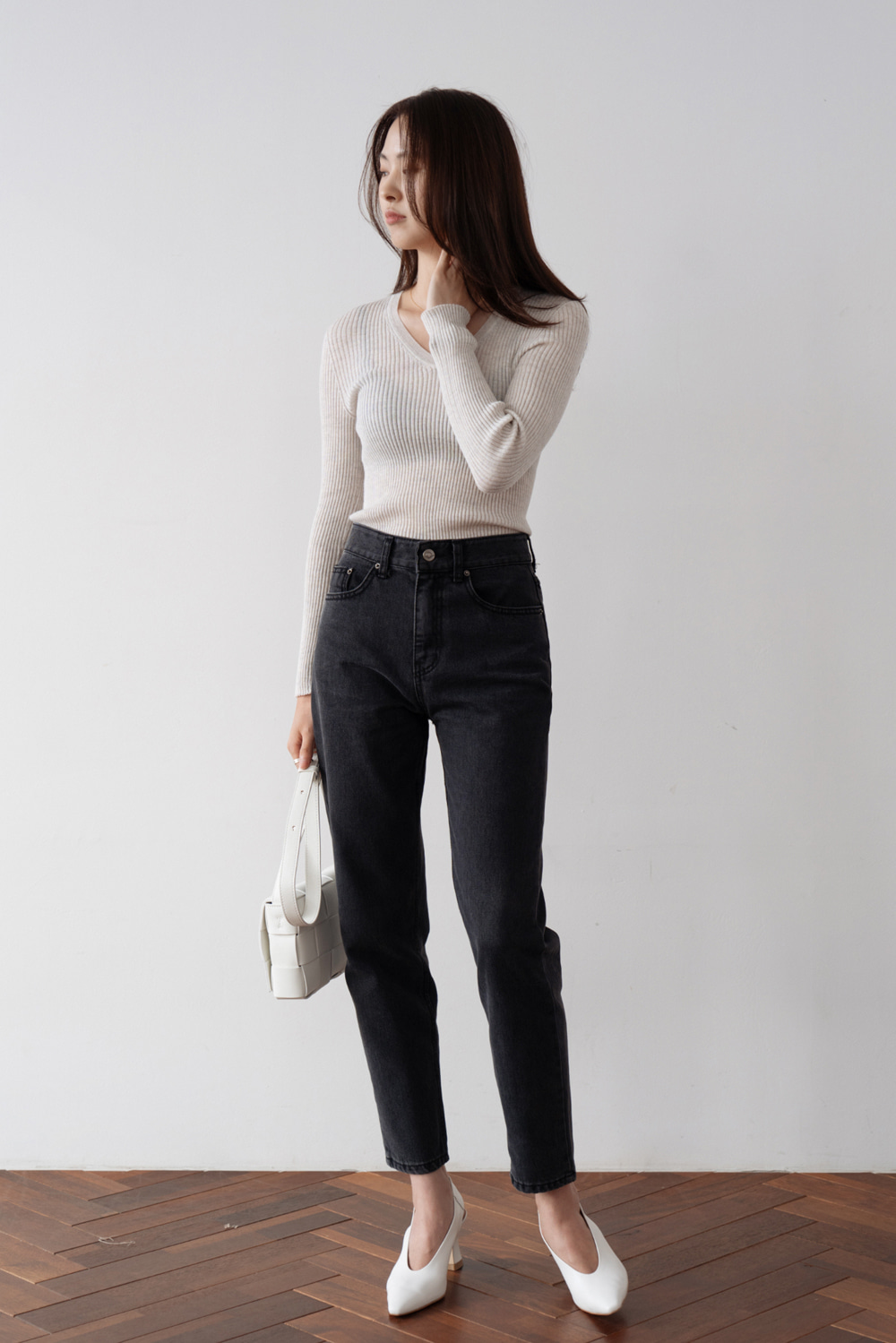 2437_Slim Wash Pants [ New Season / 10% DC ] 27일 마감
