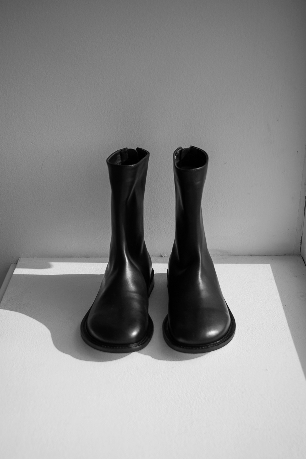 8607_Simple line boots