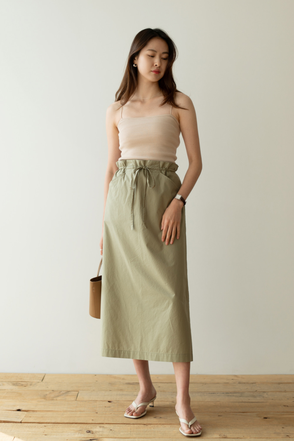 7103_String Midi Skirt [ New Season / 10% DC ] 14일 PM 6 마감