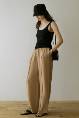 7113_Color Soft Trousers